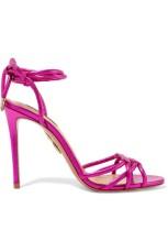 Aquazzura metallic sandals