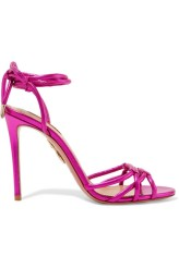 Aquazzura metallic sandals